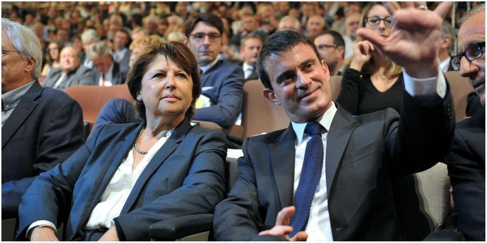Congès PS : d'après Manuel Valls, Martine Aubry a rallié la motion majoritaire par peur de perdre la région Nord-Pas-de-Calais