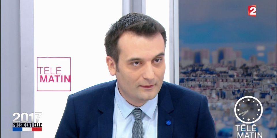 """Contre le front républicain, Florian Philippot rappelle que la droite appelait Emmanuel Macron """"Emmanuel Hollande"""""""