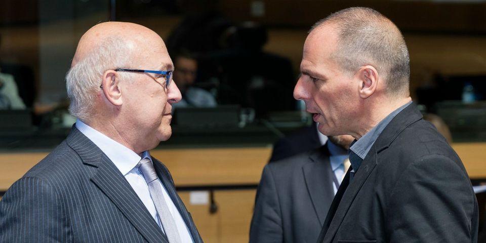 Crise grecque et Eurogroupe : la voix de Michel Sapin vue par Yanis Varoufakis