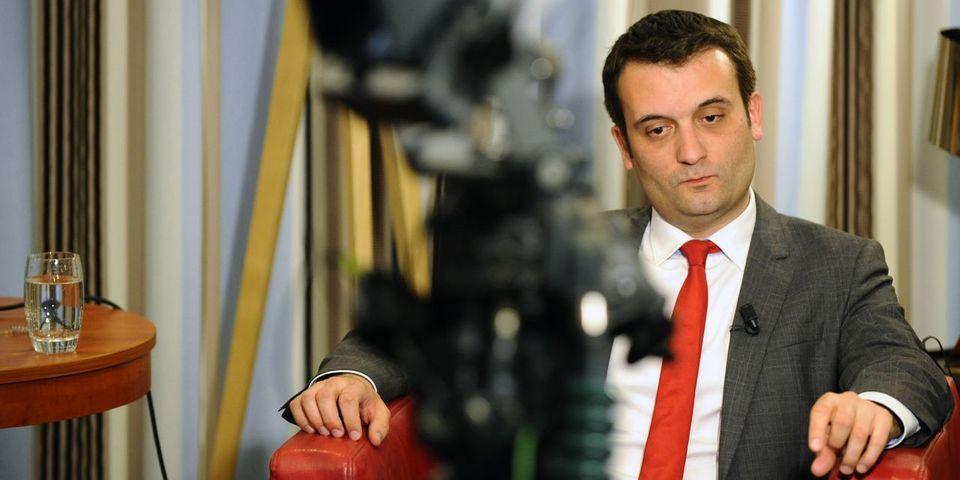 """Critiqué en interne, Florian Philippot ne va """"pas forcément rester des années"""" au FN"""