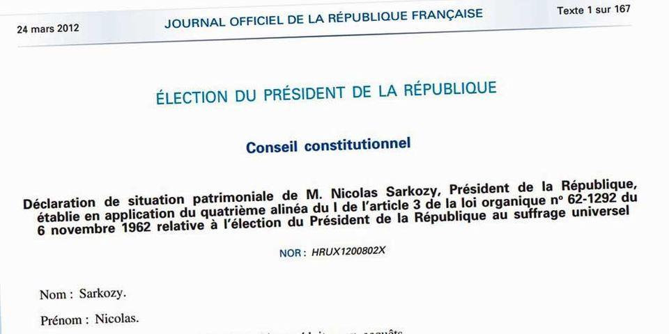 Les petites collections de Sarkozy