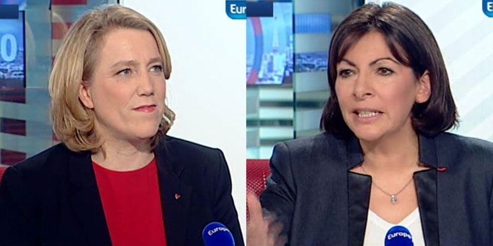 Débat Paris 2014 : Danielle Simonnet du Parti de gauche assure qu'elle rejoindra Anne Hidalgo pour le deuxième tour