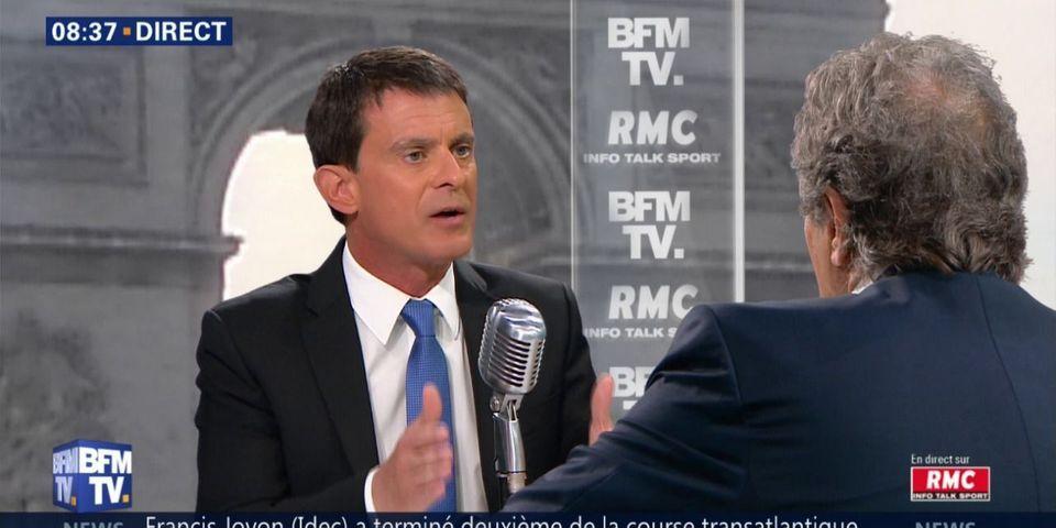 """Déficit : Manuel Valls dénonce """"l'obsession"""" de la Cour des comptes sur """"l'insincérité"""" du budget"""
