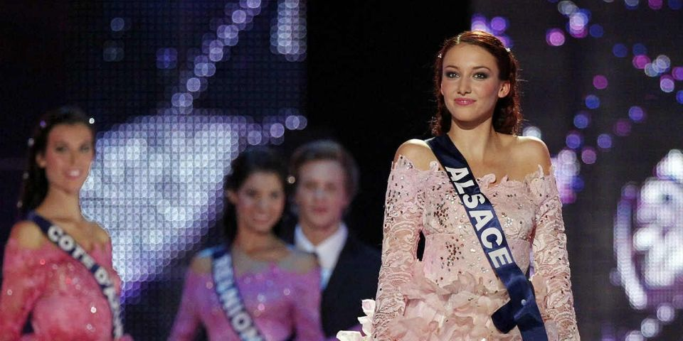 Delphine Wespiser, miss France 2012, candidate aux municipales en Alsace