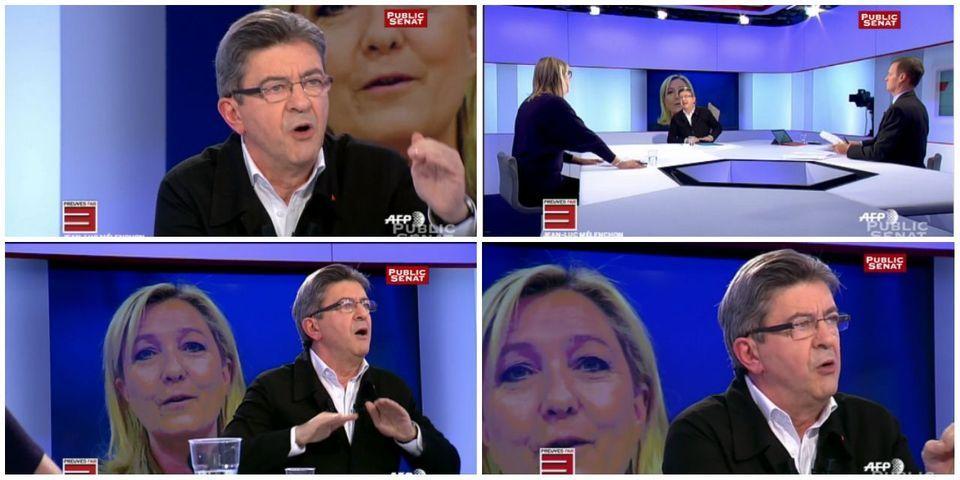 Demande de relaxe pour Marine Le Pen : Mélenchon y voit la main de Taubira et Hollande