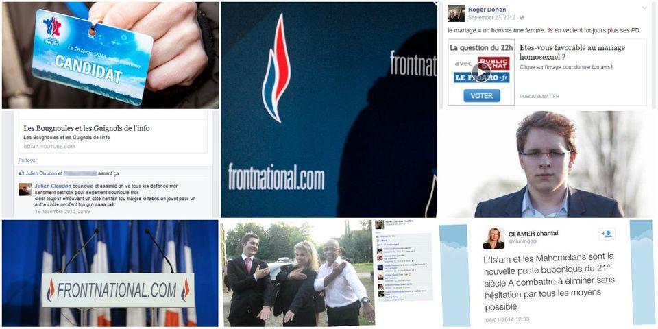 """Départementales : les résultats de dix candidats FN """"à problèmes"""""""