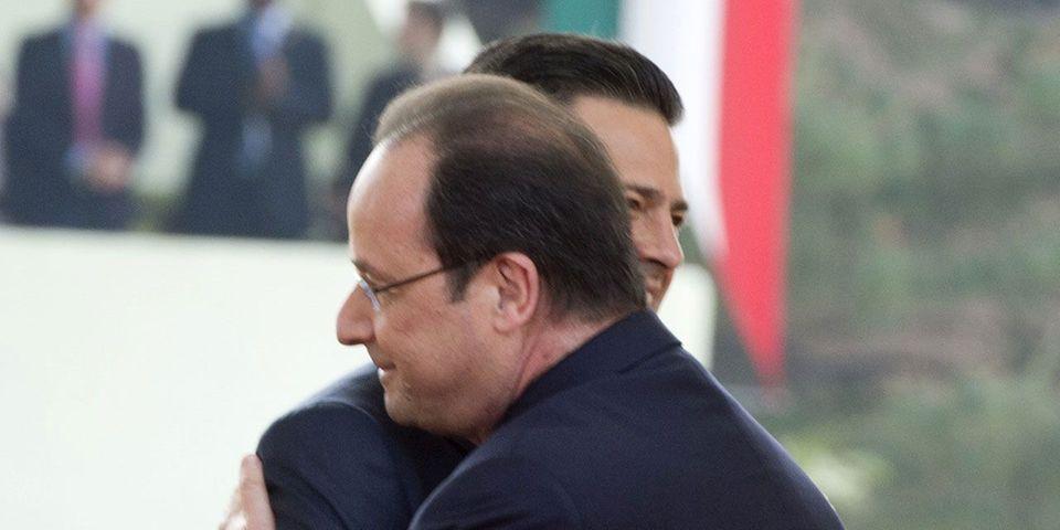 """Depuis le Mexique, François Hollande assure que """"la France n'abandonne personne"""" dans une allusion claire à l'affaire Versini"""