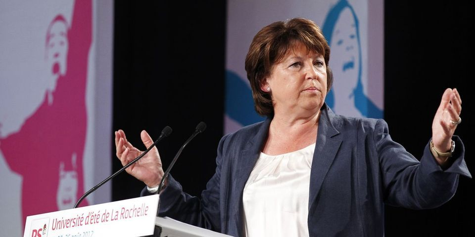 """Députés """"frondeurs"""" sanctionnés par Bruno Le Roux : Martine Aubry dénonce """"des mesquineries"""""""