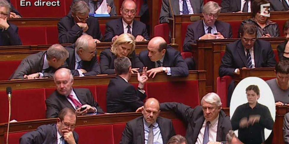 """Jean-Marc Ayrault: """"M. le président du groupe 'UMP', c'est ça, je ne me suis pas trompé ?"""""""