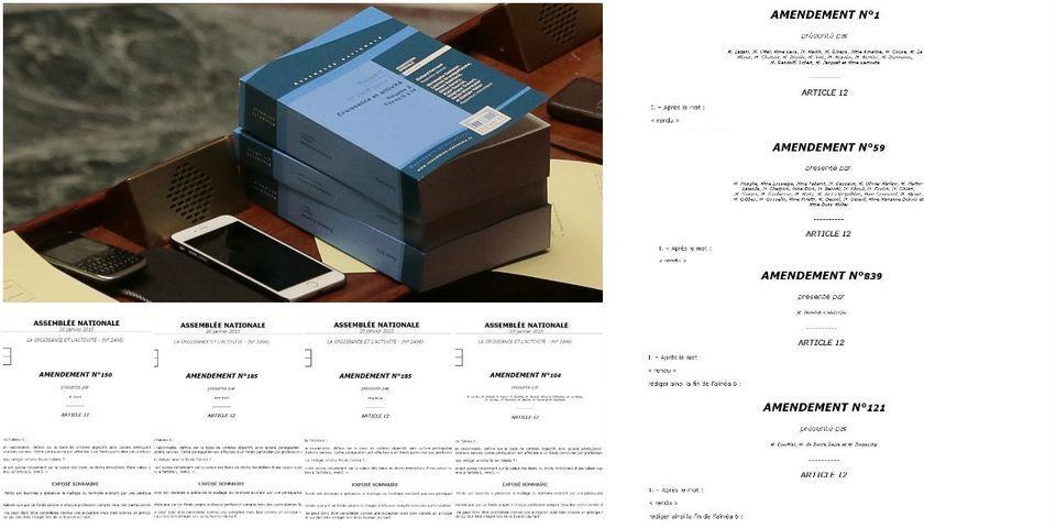 Loi Macron: des députés UMP, PS, PCF et Radicaux déposent 32 copies du même amendement sur demande des notaires