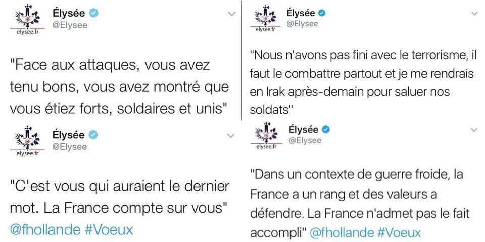Des élus FN et LR moquent les grosses fautes d'orthographe du community manager de l'Élysée