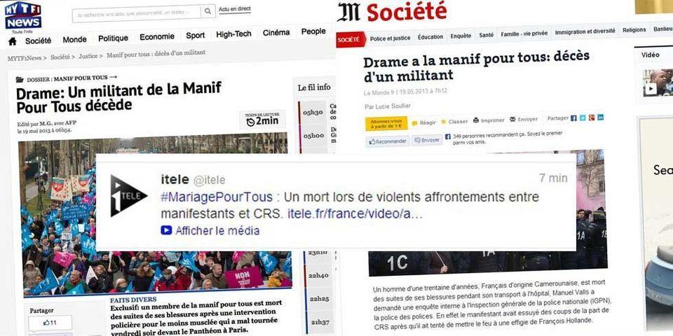 Des opposants au mariage homo créent de faux articles de TF1, du Monde et du Nouvel Observateur