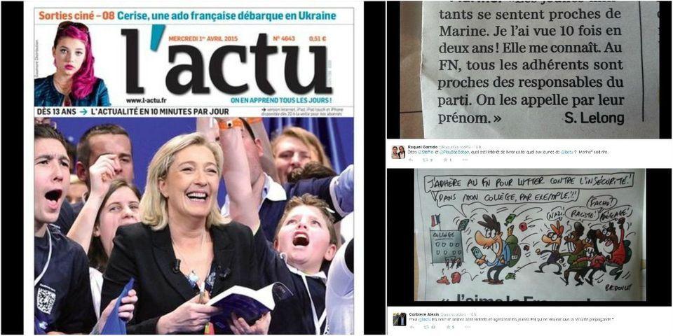 """Des représentants du Parti de gauche accusent le quotidien pour ado """"L'actu"""" de """"propagande FN"""""""