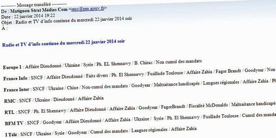 Document : Comment Jean-Marc Ayrault surveille son image en continu dans la presse