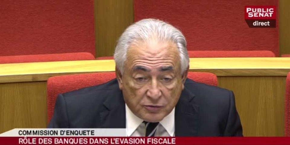 Dominique Strauss-Kahn auditionné au Sénat par la commission d'enquête sur l'évasion des capitaux