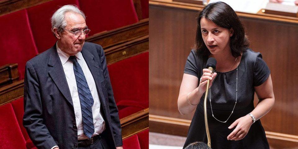 """Duflot """"communiste"""", Debré """"du concentré de suc de ringardise"""" : passe d'armes entre la ministre et le député"""
