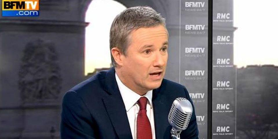 Dupont-Aignan estime être plus à gauche que Moscovici, qu'il compare à Copé