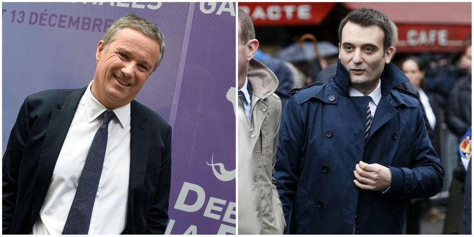 Dupont-Aignan invite Florian Philippot, vice-président du FN, à le rejoindre à Debout la France