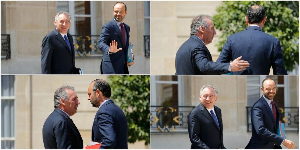Édouard Philippe et François Bayrou mettent en scène leur belle entente sur fond de couac persistant
