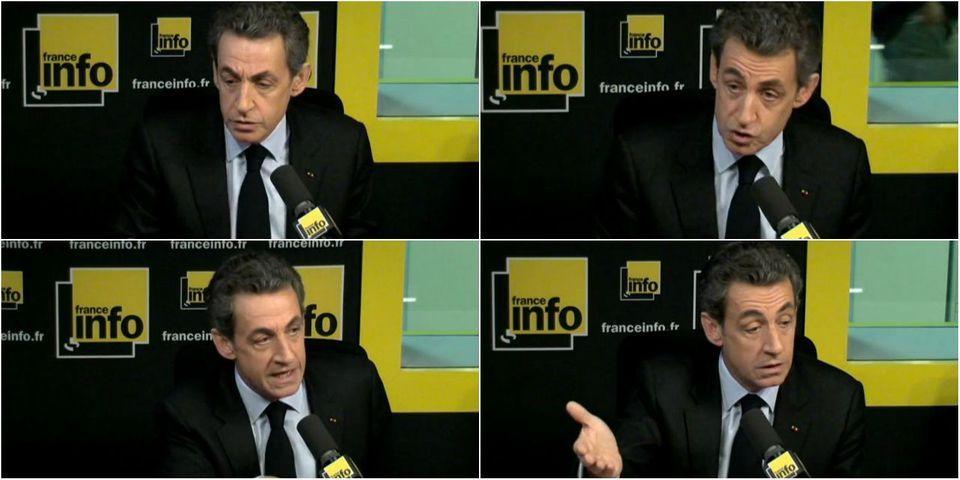 Départementales, Bygmalion, UMP... ces questions auxquelles Sarkozy n'a pas voulu répondre