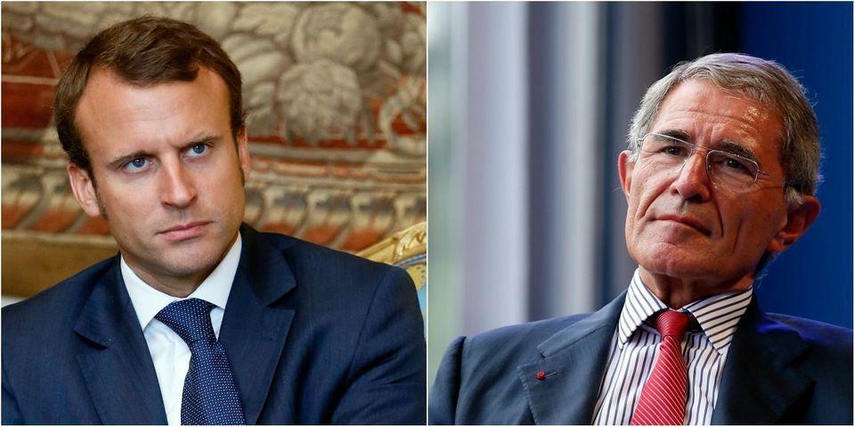 """Emmanuel Macron """"comprend"""" que la retraite chapeau de Gérard Mestrallet """"choque"""""""