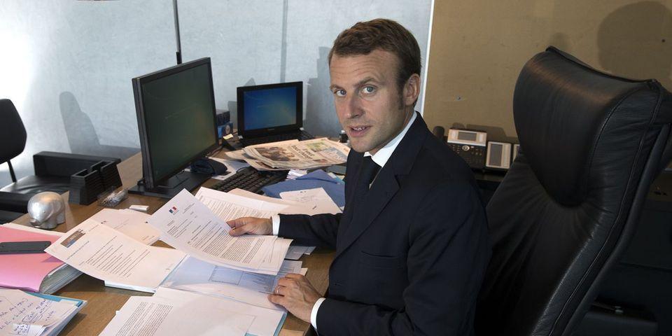 Emmanuel Macron répond à ceux qui le réduisent à son passé de banquier d'affaire