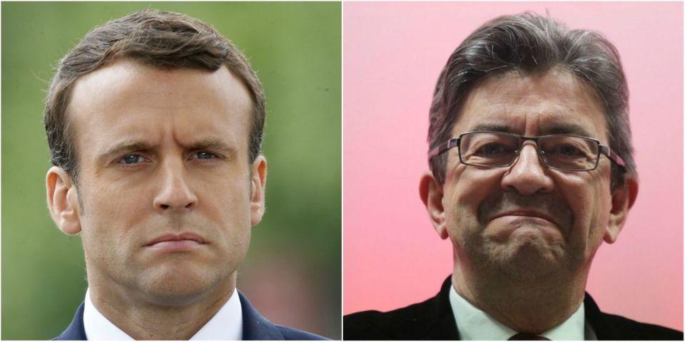 """Emmanuel Macron s'agace : """"Jean-Luc Mélenchon a toujours raison contre le peuple"""""""