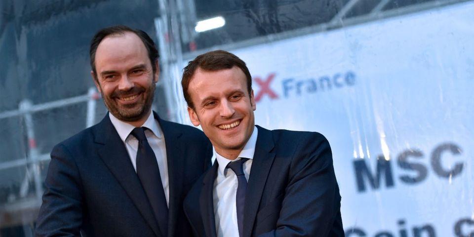 """Emmanuel Macron se félicite d'avoir choisi Edouard Philippe : """"C'est bien quand même, l'éducation à la Juppé"""""""