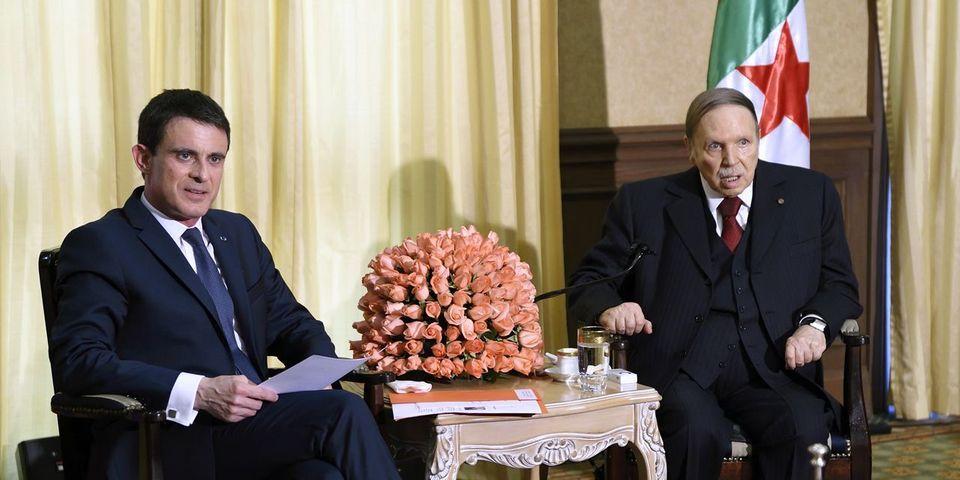 En Algérie, le président du FLN accuse Manuel Valls d'avoir voulu se venger d'Abdelaziz Bouteflika