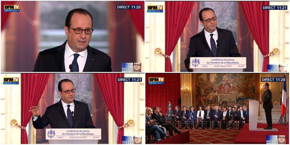 C'était la conférence de presse de François Hollande du jeudi 5 février
