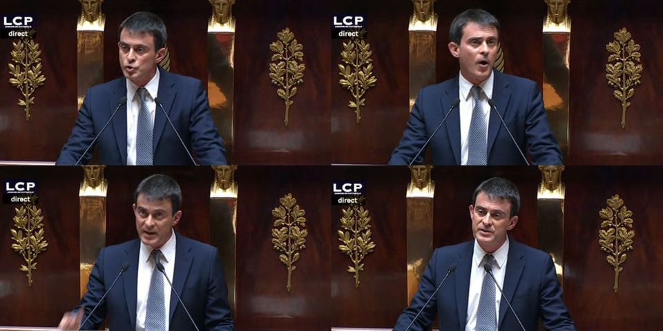 C'était le discours de politique générale de Manuel Valls