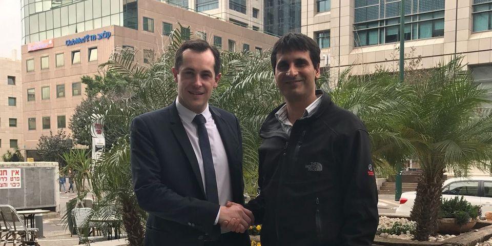En Israël, le président des jeunes du Likoud rencontre Nicolas Bay mais ignore qu'il est au FN