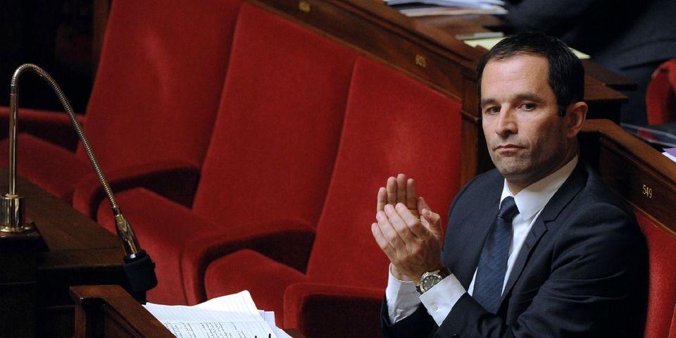 """En l'état, Benoît Hamon """"ne croit pas"""" que François Hollande sera au second tour en 2017"""