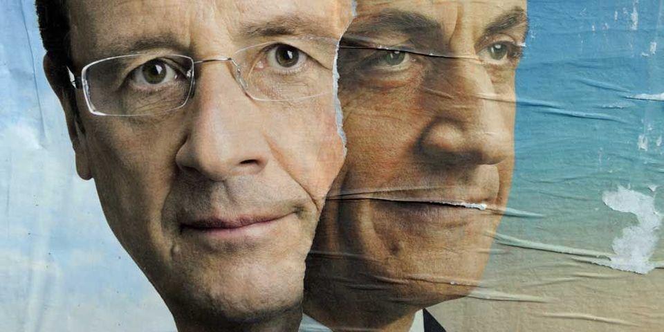 En librairie, Nicolas Sarkozy met François Hollande KO