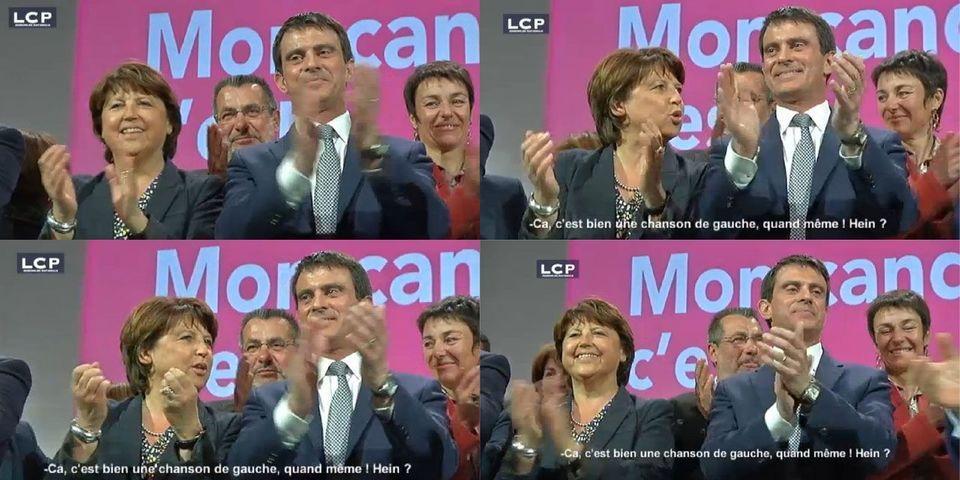 La pique de Martine Aubry à Manuel Valls