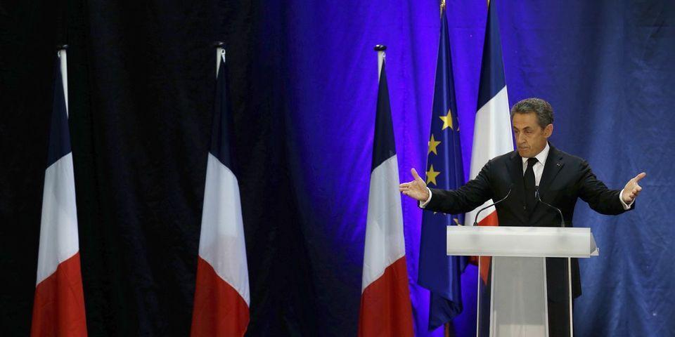 En meeting, Nicolas Sarkozy tente de retourner les affaires judiciaires en sa faveur