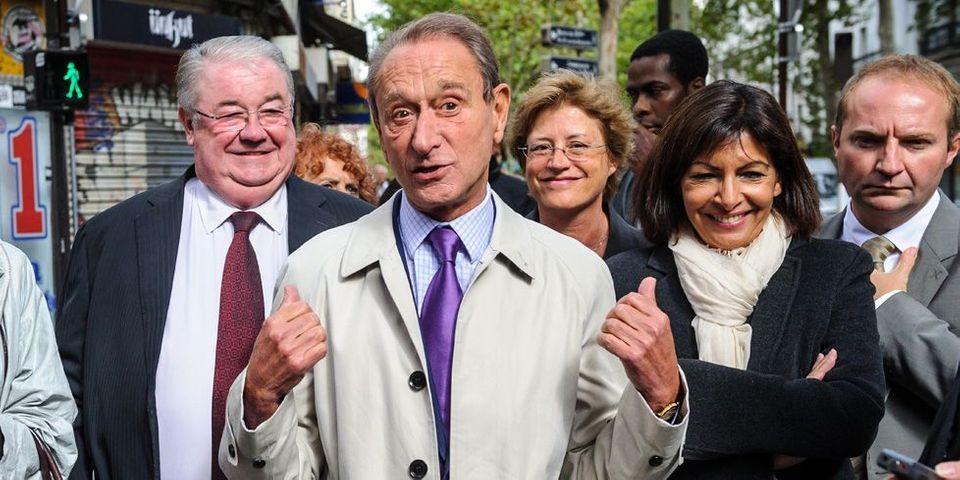 """En référence aux tensions au gouvernement, Bertrand Delanoë vante """"la gauche qui marche"""" à Paris"""