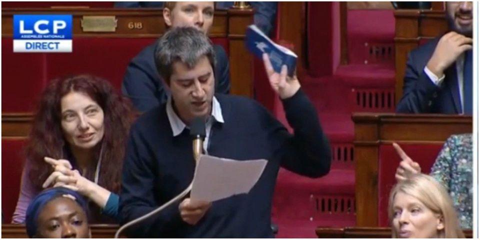 Ehpad : François Ruffin (LFI) demande à Agnès Buzyn de sortir le chéquier (et sort le sien)