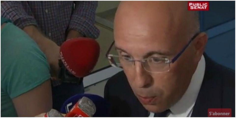 """Eric Ciotti sur les victimes de l'attentat de Nice : """"Eux ils n'en parlent plus, de l'État de droit"""""""