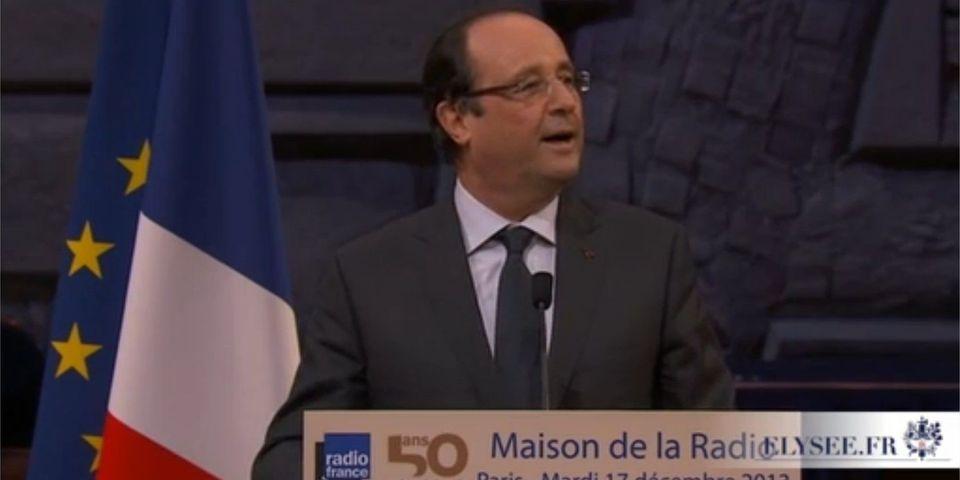 Et l'Elysée se mit à évoquer à haute voix la fusion des sites Internet de Radio France et France Télévisions