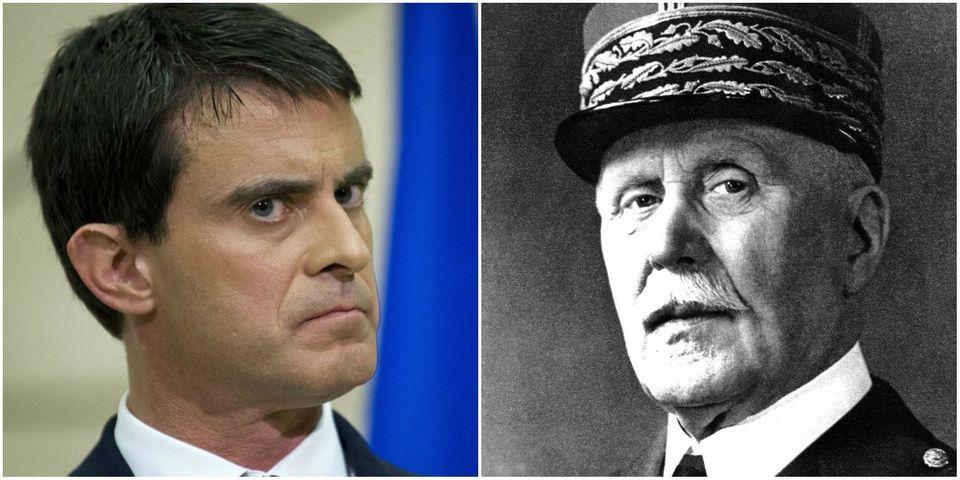 Et là, Emmanuel Todd compare Manuel Valls au maréchal Pétain
