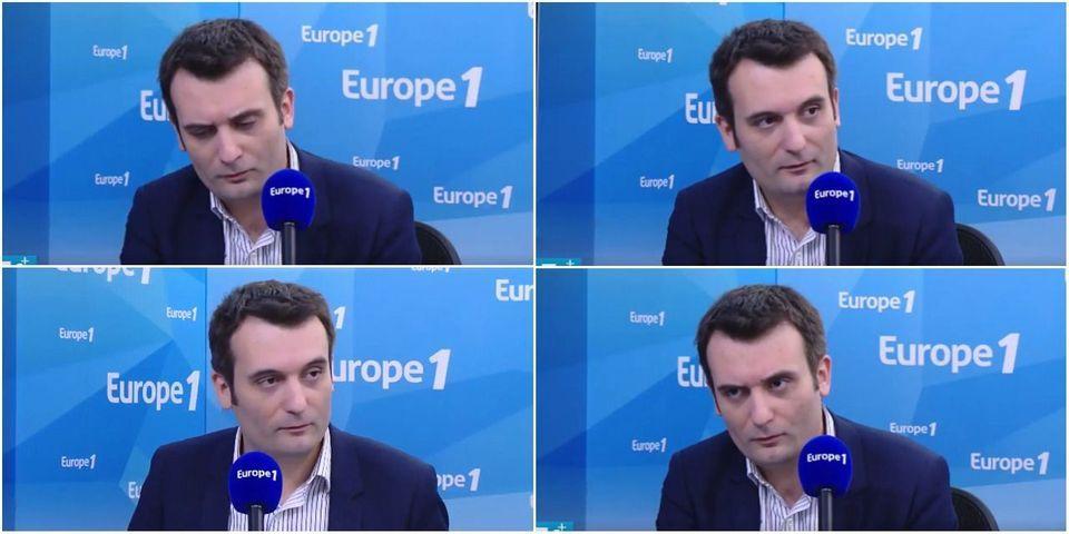 """VIDÉO - Florian Philippot assure très sérieusement qu'il n'a """"pas relayé de fake news"""" pendant la campagne présidentielle"""