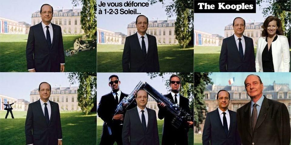 """Et le Canard Enchaîné rebaptisa François Hollande : """"Pépère"""""""