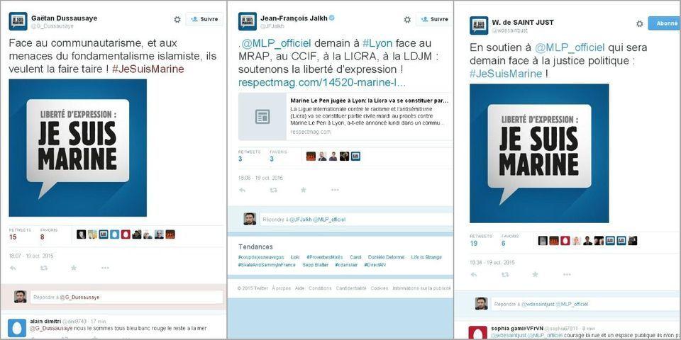 Et le FN créa le hashtag #JeSuisMarine