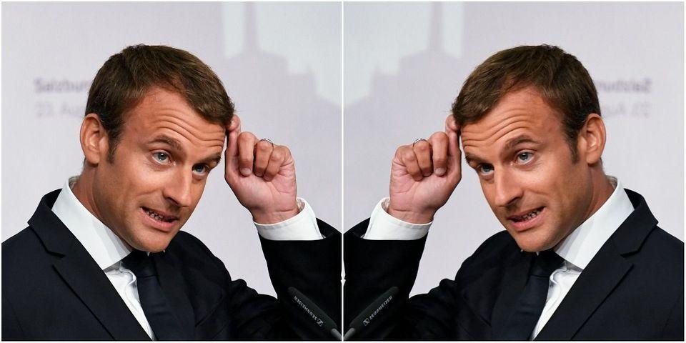Et Macron rompit son habitude de ne pas commenter l'actualité à l'étranger (pour répondre à Hollande)