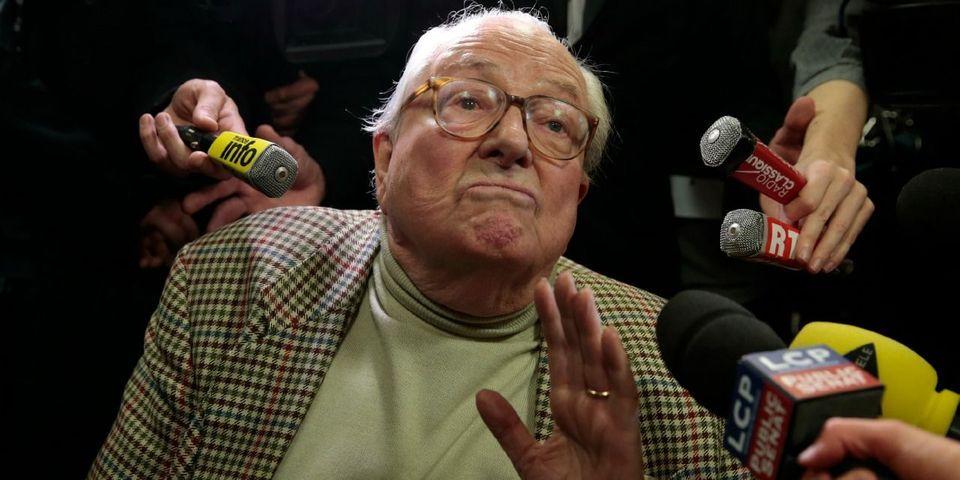 Et pendant ce temps-là, Jean-Marie Le Pen rend hommage au fondateur de l'OAS