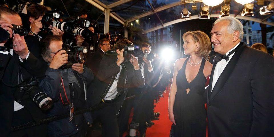Et soudain, sur le tapis rouge du Festival de Cannes... Dominique Strauss-Kahn