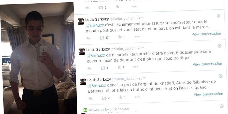 Et soudain, Louis Sarkozy rentre dans le débat et estime que la mise en examen de son père vise à empêcher son retour en politique