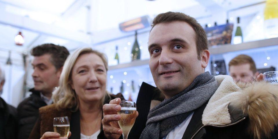 Évidemment, le FN dresse un parallèle entre le renoncement de Hollande et l'échec de Sarkozy