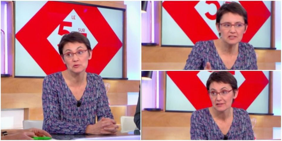 """Menace terroriste : Nathalie Arthaud refuse de se dire solidaire des candidats visés : """"Une solidarité avec Macron ou Fillon, c'est pas trop mon truc"""""""
